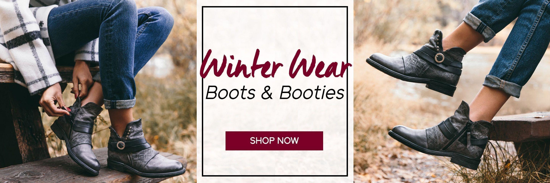 Winter Wear - Boots & Booties