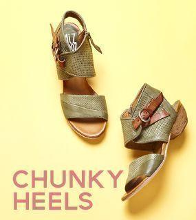 Miz Mooz Chunky Heels