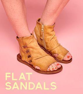 Miz Mooz Flat Sandals