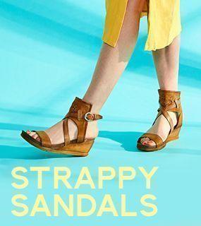 Miz Mooz Strappy Sandals