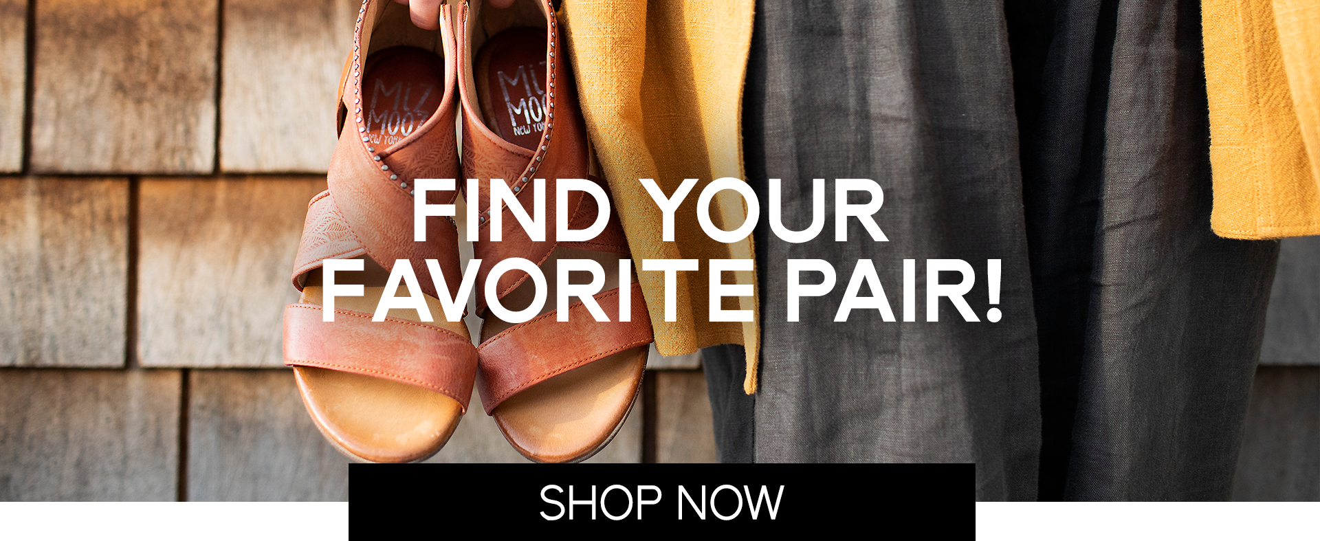 FIND YOUR FAVORITE PAIR!